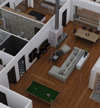 Modelado mueble 3d