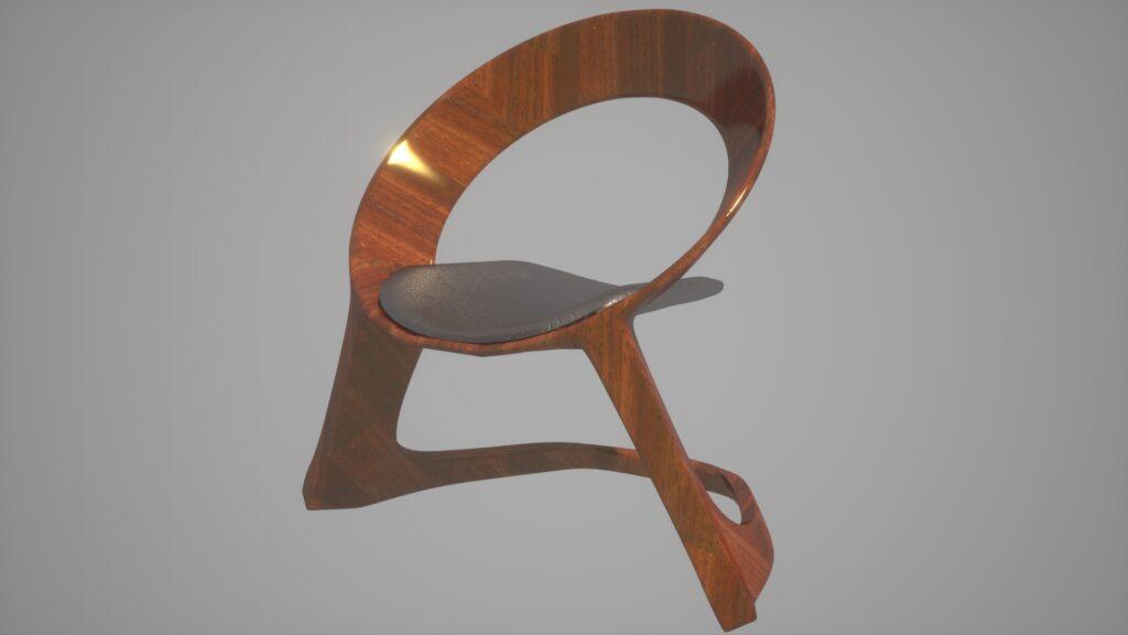 modelado de mueble en 3d
