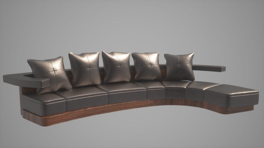 modelado mobiliario 3d