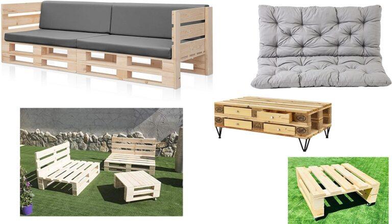 Muebles y sofas de palets