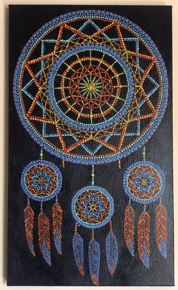 Mandala Atrapa Sueños